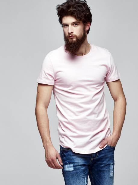 Men's short sleeve basic T-shirt