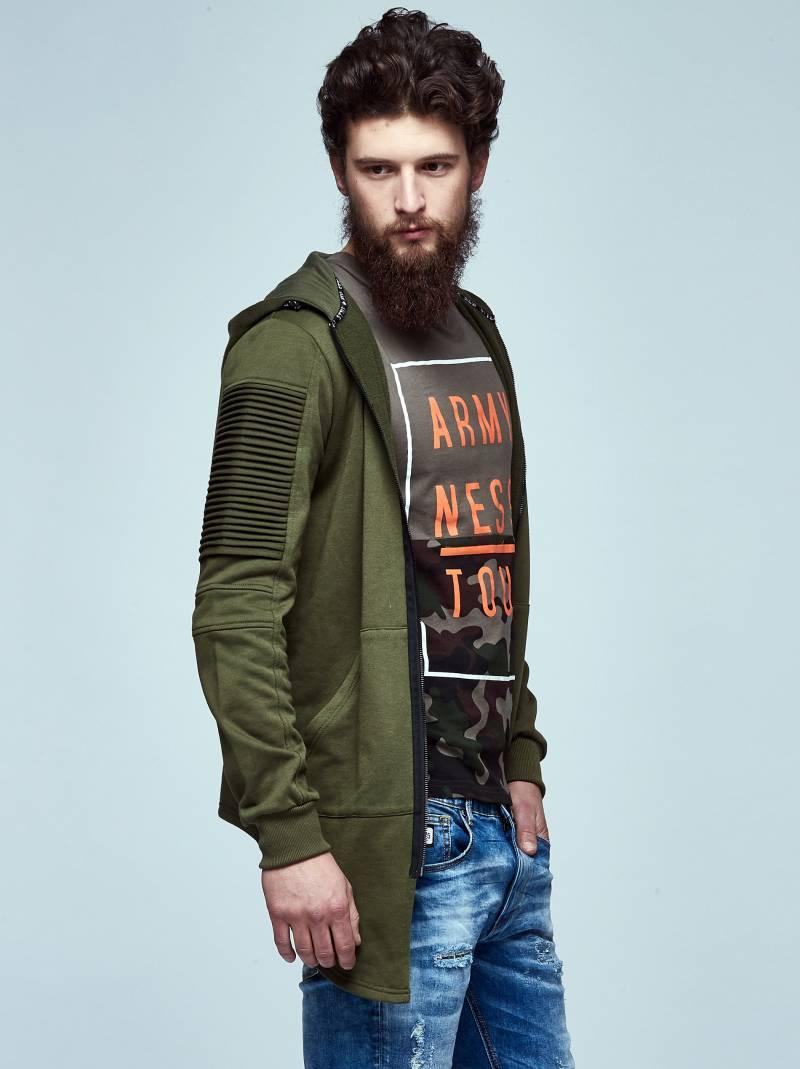 Men's sporty sweatshirt